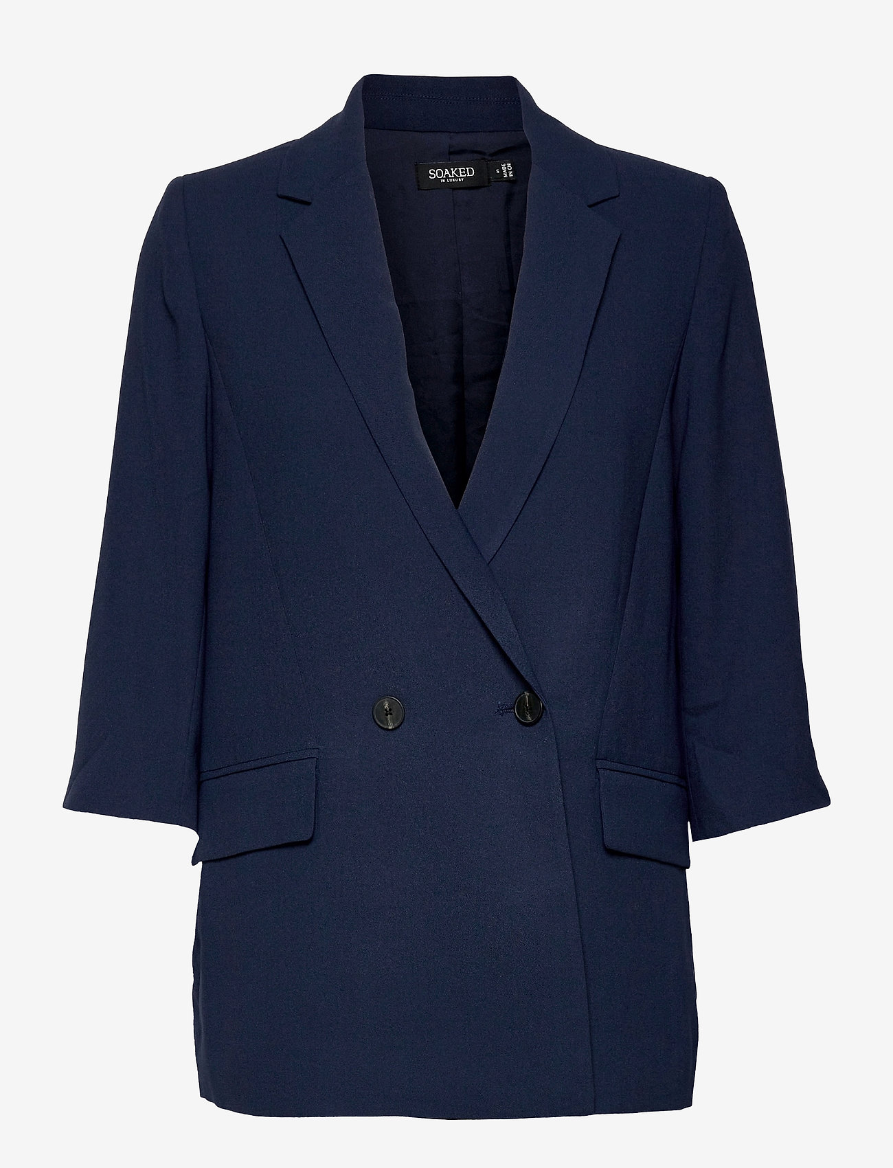 Soaked in Luxury - Shirley 2ND Blazer - oversized blazere - navy - 0