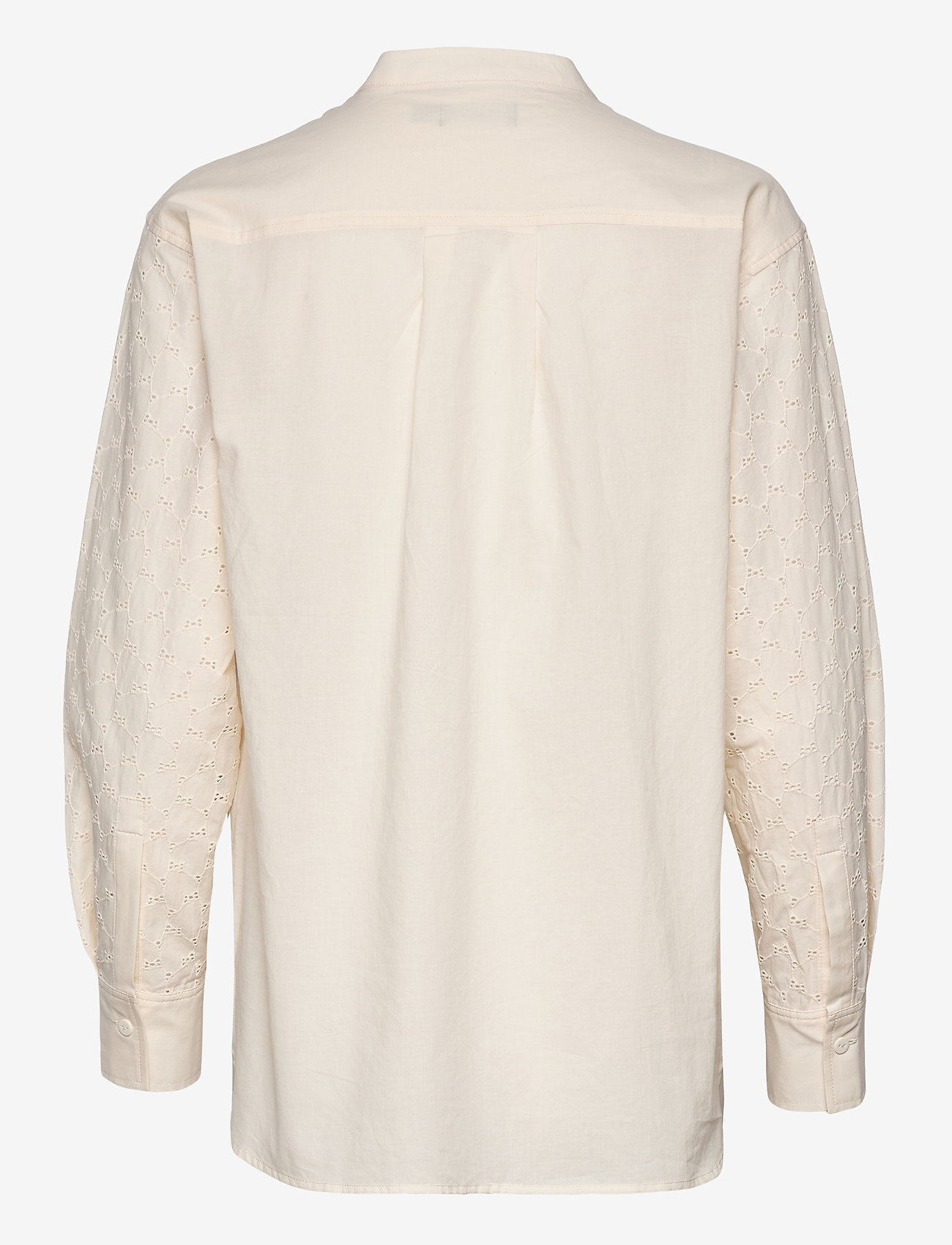 Soaked in Luxury - SLOunce Shirt LS - long-sleeved shirts - whisper white - 1