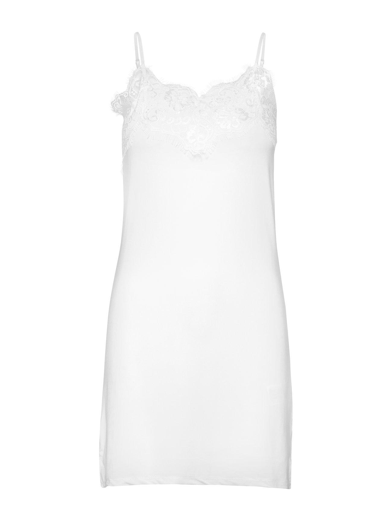 Soaked in Luxury SL Clara Strapdress - BROKEN WHITE