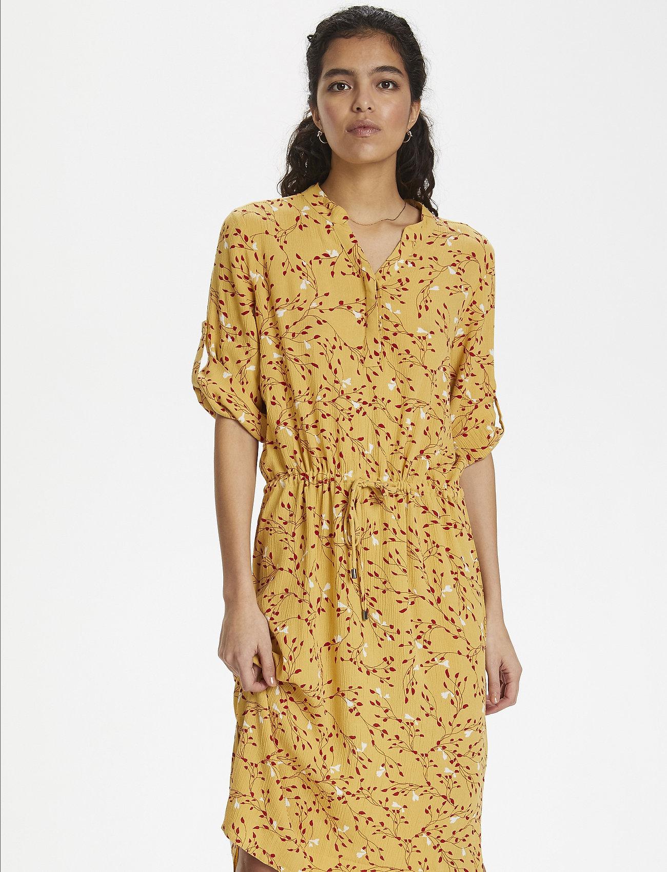 Soaked in Luxury - SL Zaya Dress - midi kjoler - rattan