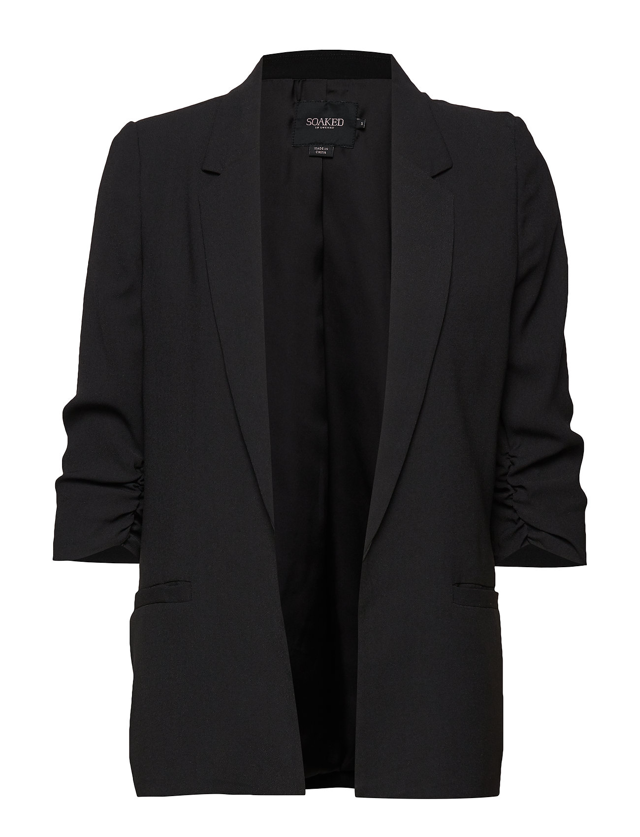 Soaked in Luxury SLShirley blazer - BLACK