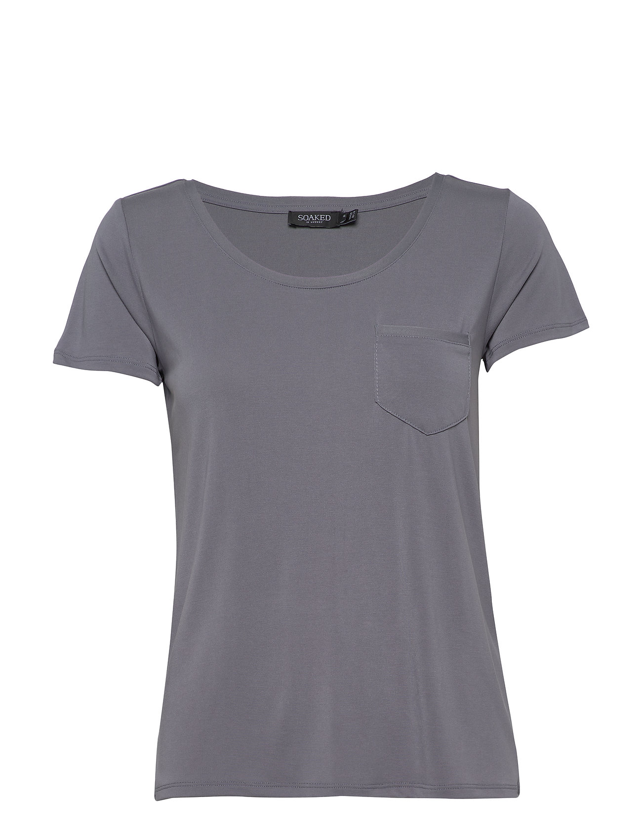 Image of Slcolumbine Tee T-shirt Top Blå Soaked In Luxury (3425610717)