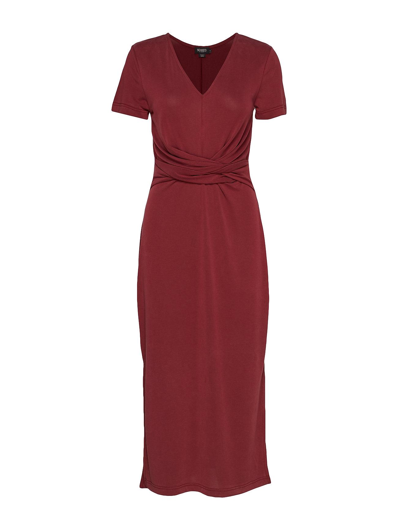 Soaked in Luxury SL Sepia Dress SS - ZINFANDEL