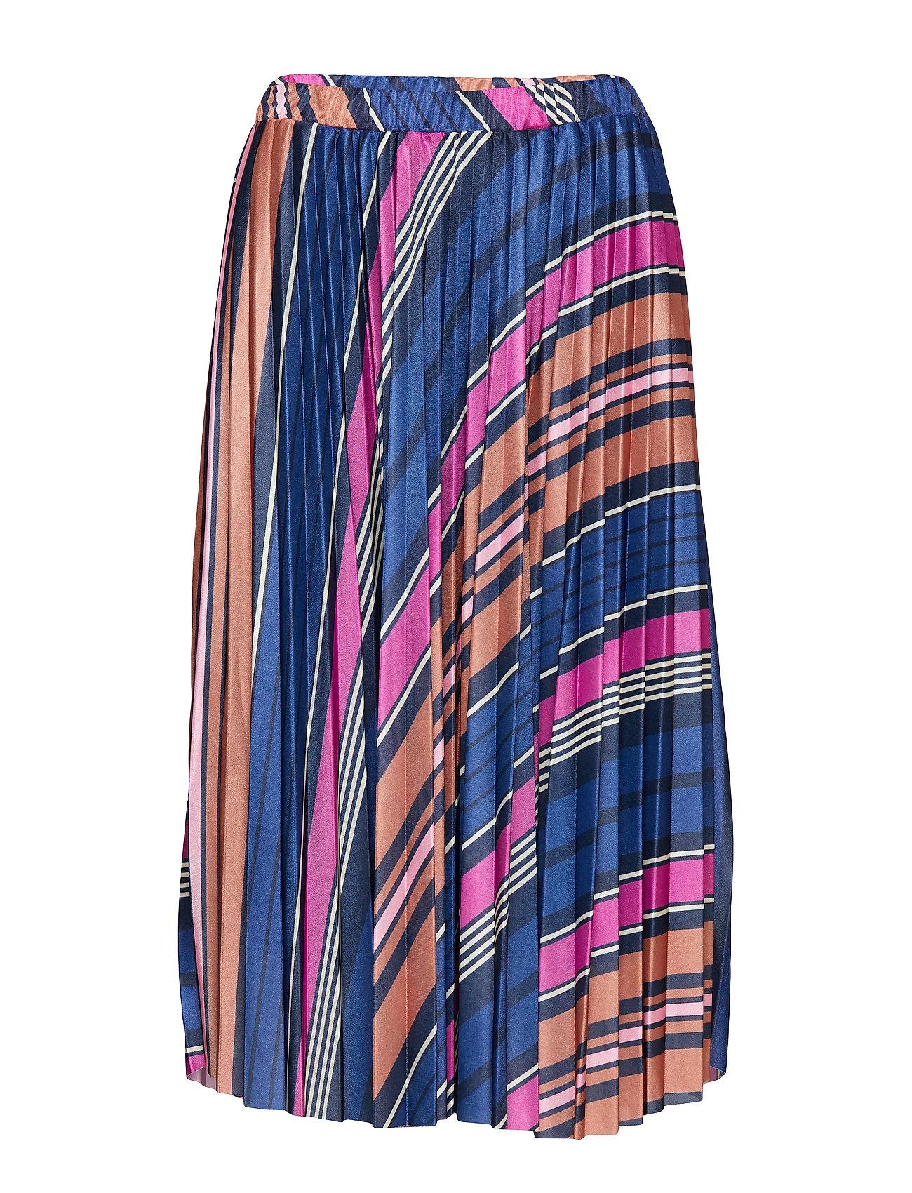 Soaked in Luxury SL Pippa Skirt - NIGHT SKY STRIPE