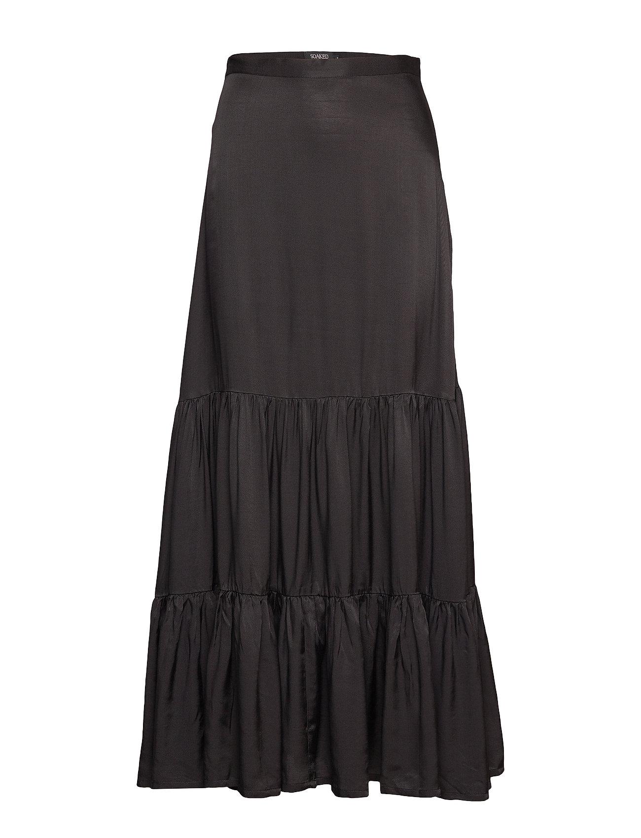 Soaked in Luxury SL Judy Maxi Skirt - BLACK