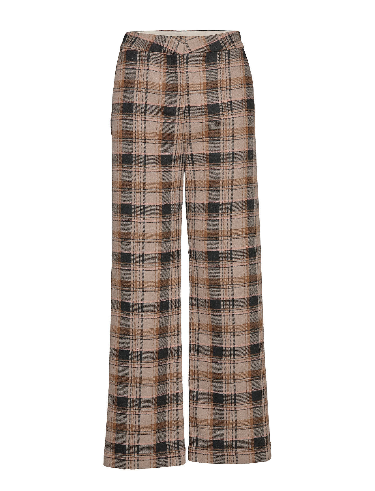 Soaked in Luxury SL Indie Check Pants - EUCALYPTUS CHECK PATTERN