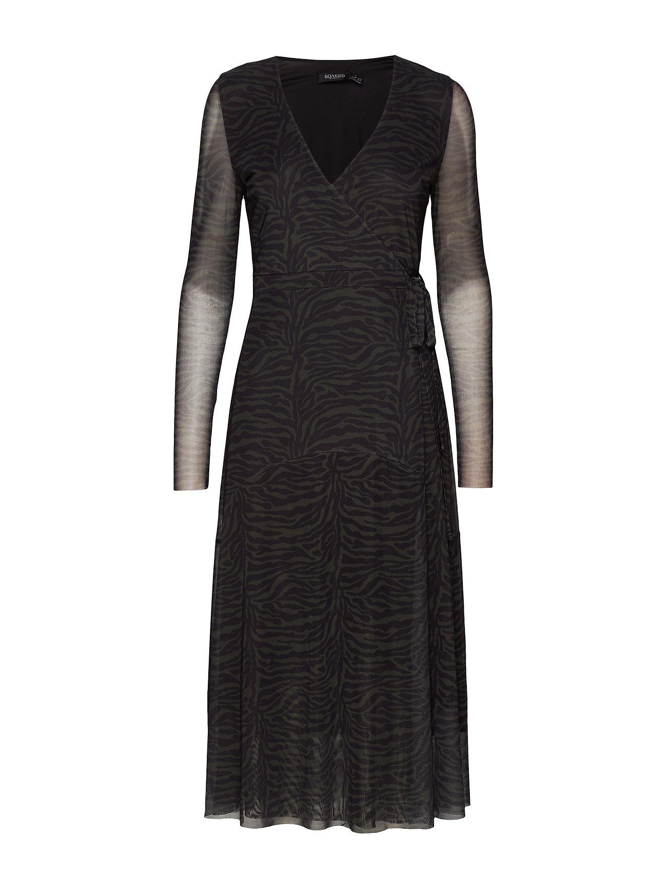 Soaked in Luxury SL Jewel dress - FOREST NIGHT PRINT