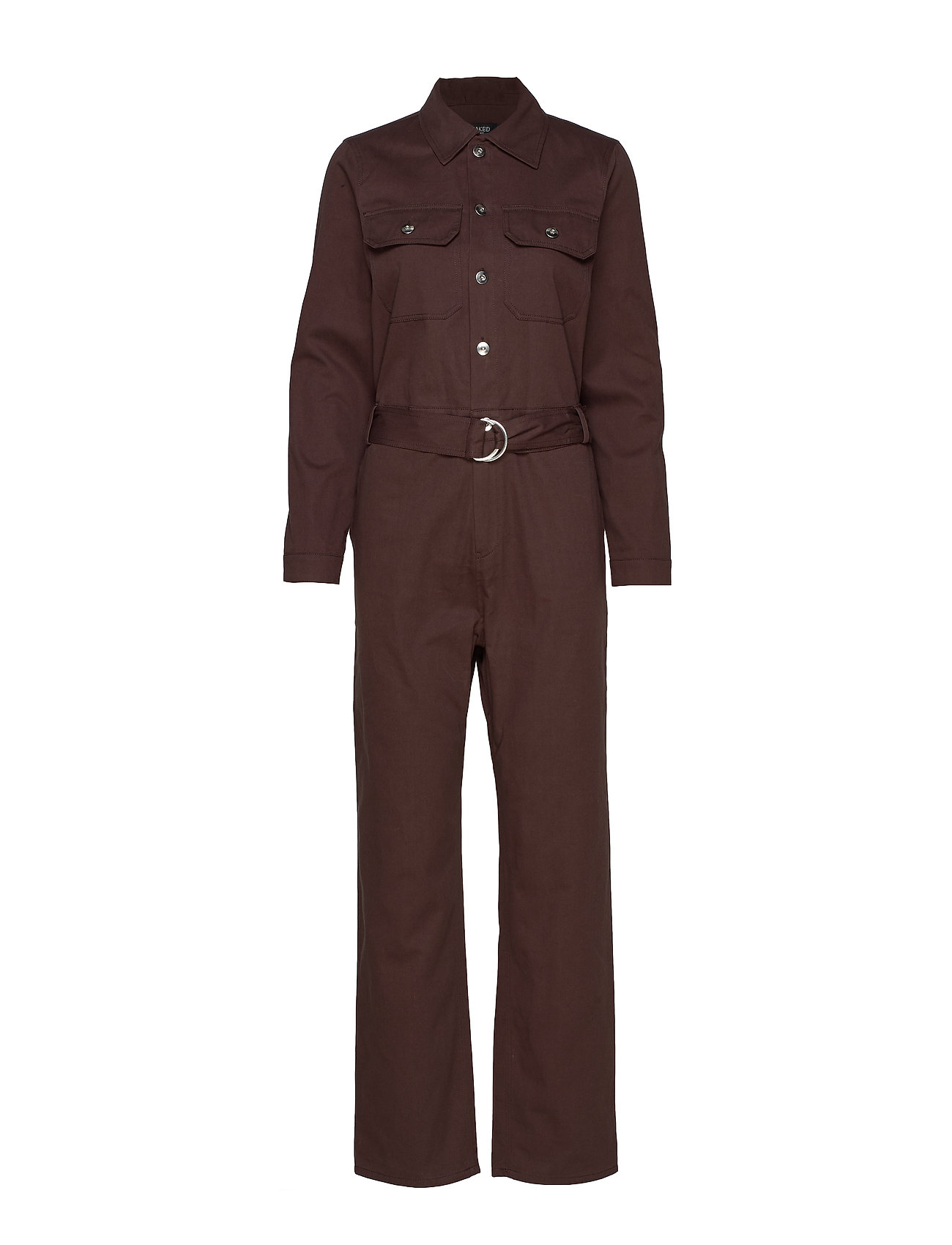 Soaked in Luxury SL Cedar Jumpsuit - CHOCOLATE TORTE