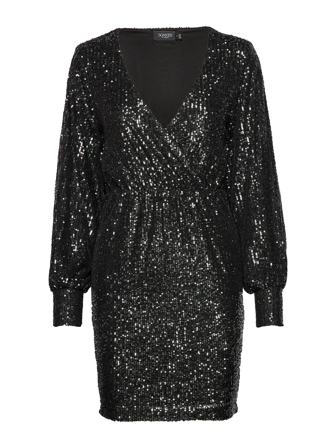 Soaked in Luxury SLNicole Dress - BLACK