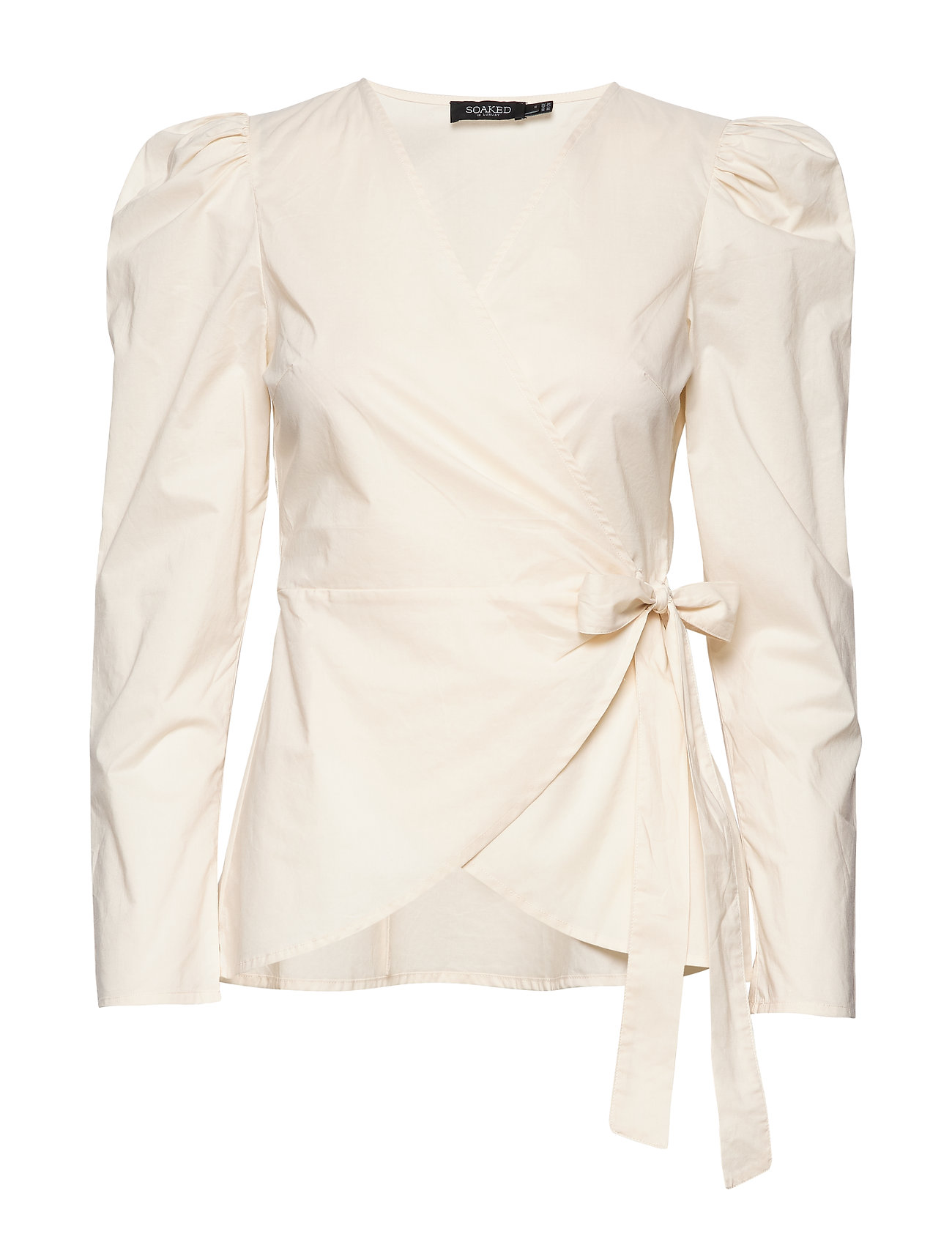 Soaked in Luxury SLSeline Blouse LS - ANTIQUE WHITE
