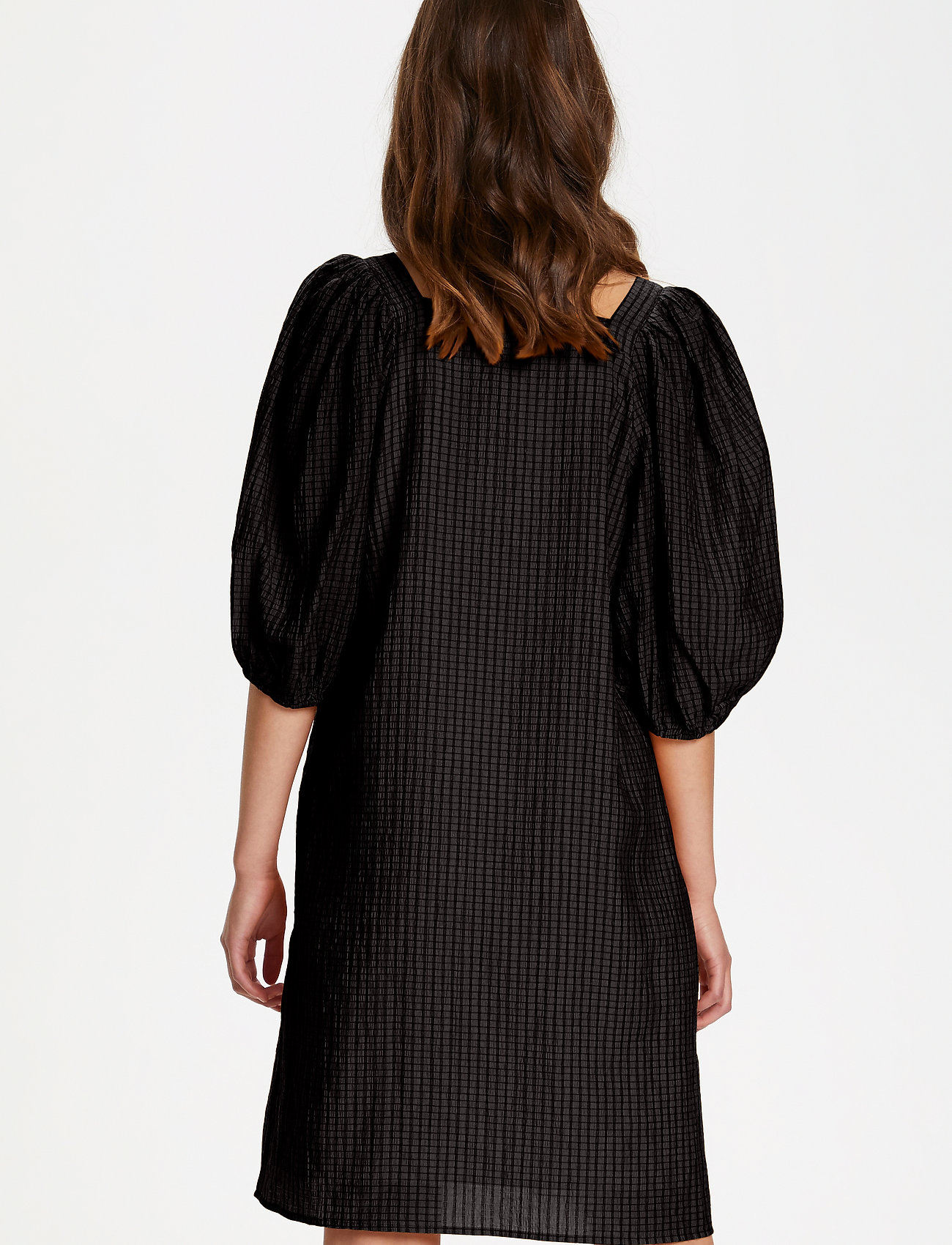 Soaked in Luxury - SLTautou Dress SS - summer dresses - black - 4