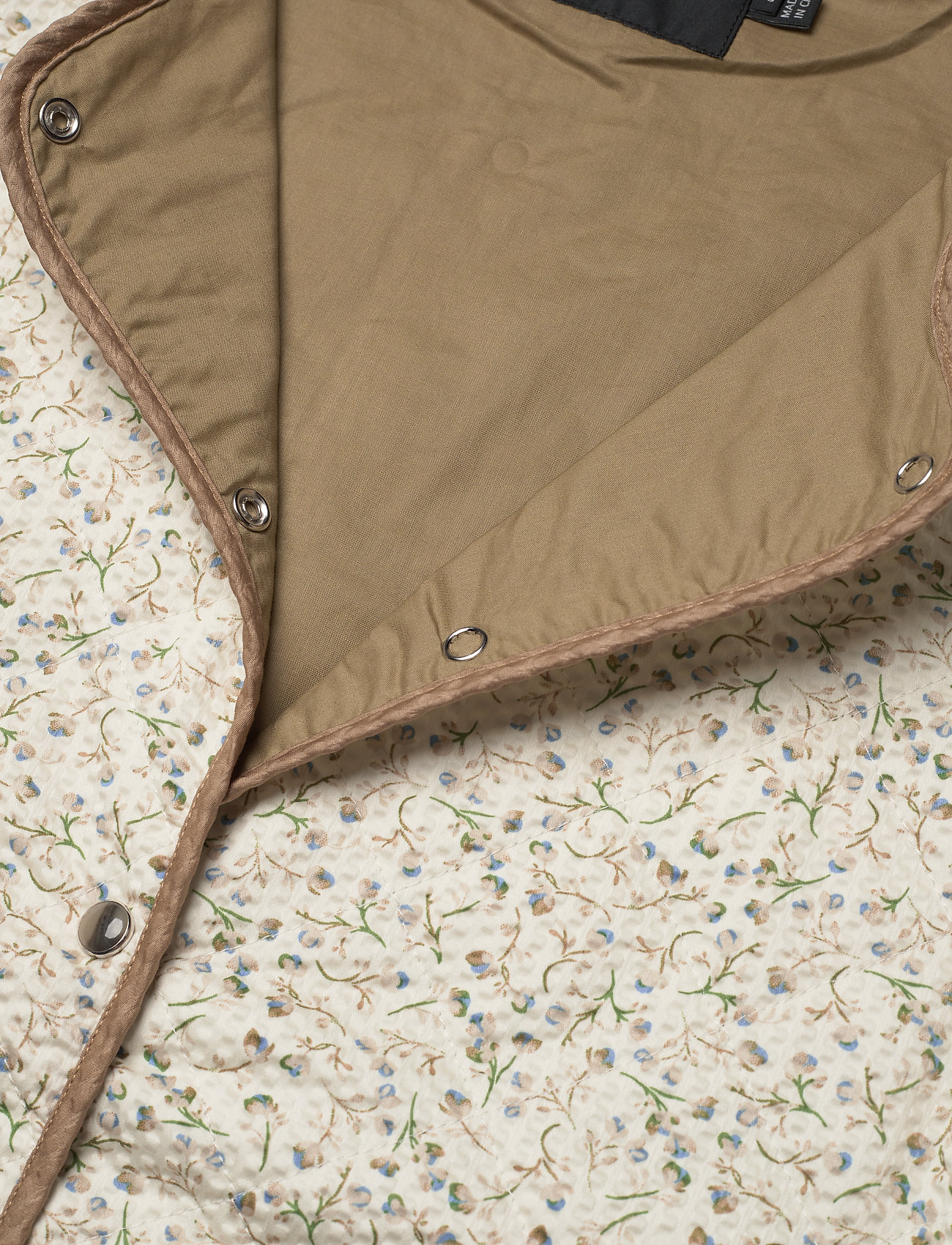 Soaked in Luxury - SLBanks Jacket LS - quilted jackets - viol print whisper white - 6