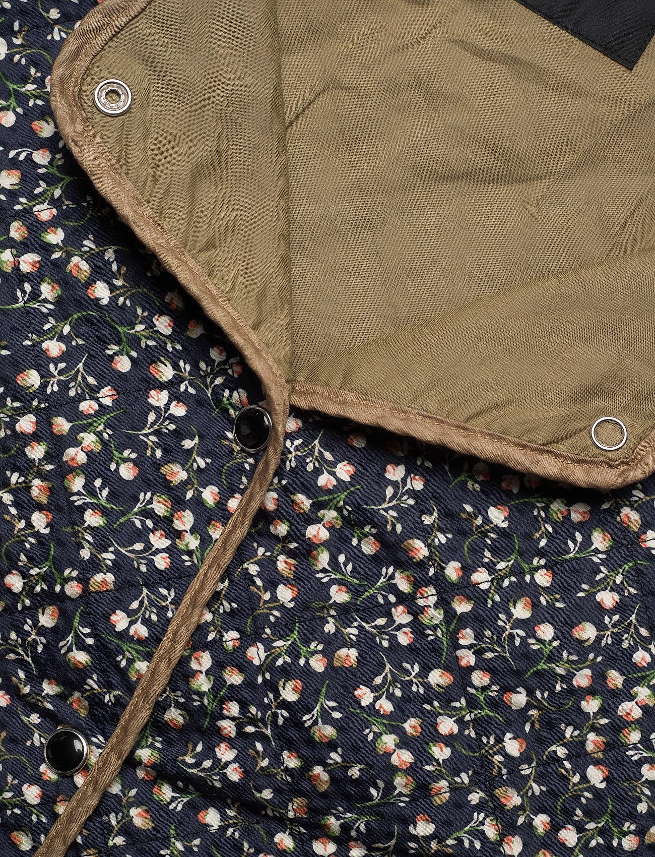Soaked in Luxury - SLBanks Jacket LS - quiltede jakker - viol print parisian night - 6