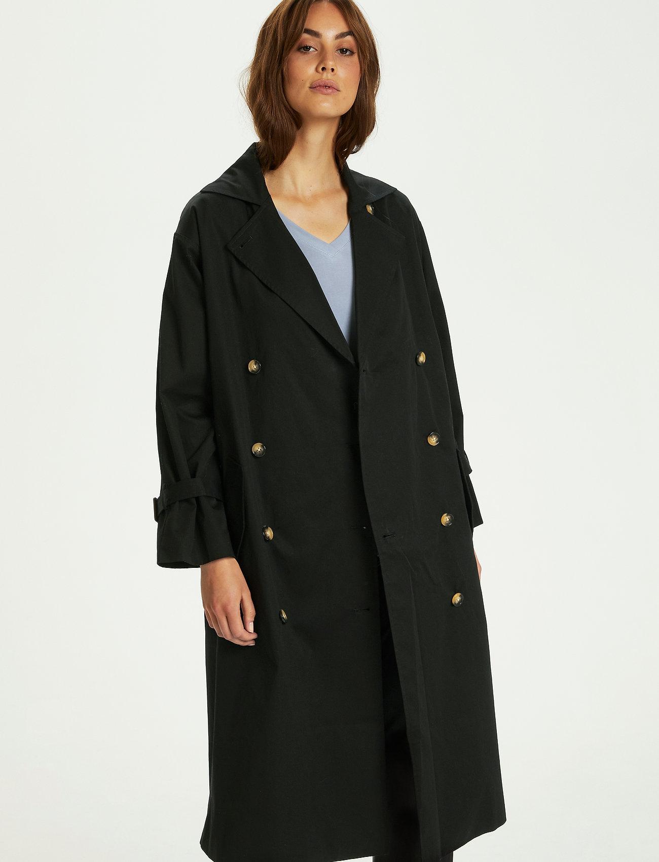 Soaked in Luxury - SLOhio Trench Coat - trenchcoats - black - 0