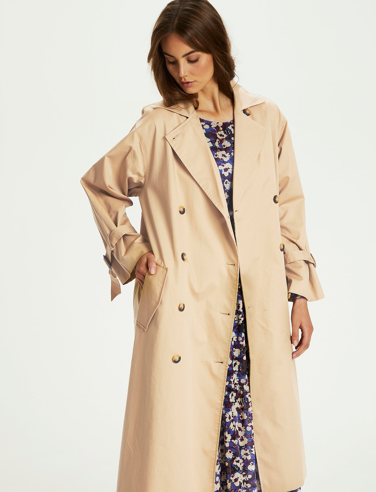 Soaked in Luxury - SLOhio Trench Coat - trenchcoats - curds & whey - 0