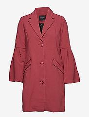 Soaked in Luxury - Tinna Coat - cienkie płaszcze - dry rose - 0