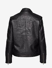 Soaked in Luxury - SLMaeve Leather Jacket LS - skinnjackor - black - 3