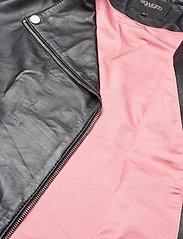 Soaked in Luxury - SLMaeve Leather Jacket LS - skinnjackor - black - 10