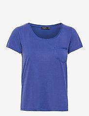 Soaked in Luxury - SLColumbine Tee - t-shirts - dazzling blue - 1