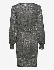 Soaked in Luxury - SLNicole Dress - paljettkjoler - silver - 1
