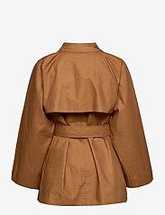 Soaked in Luxury - SLChicago Short Trenchcoat - trenchcoats - rubber - 2