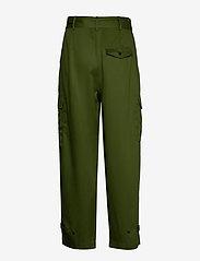 Soaked in Luxury - SLLamia Pants - bukser med brede ben - garden green - 1