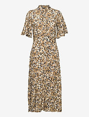 Soaked in Luxury - SLIndiana Rafina Shirt Dress SS - sommarklänningar - multifloral print ermine - 1