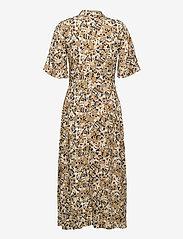 Soaked in Luxury - SLIndiana Rafina Shirt Dress SS - sommarklänningar - multifloral print ermine - 2