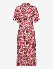 Soaked in Luxury - SLIndiana Rafina Shirt Dress SS - sommarklänningar - multifloral cardinal - 1