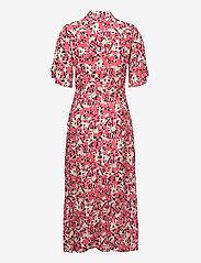 Soaked in Luxury - SLIndiana Rafina Shirt Dress SS - sommarklänningar - multifloral cardinal - 2