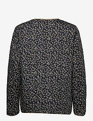 Soaked in Luxury - SLBanks Jacket LS - quiltede jakker - viol print parisian night - 2