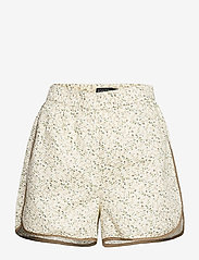 Soaked in Luxury - SLBanks Shorts - shorts casual - viol print whisper white - 1