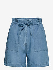 Soaked in Luxury - SLDalia Shorts - shorts casual - light blue denim - 1