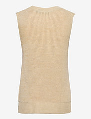 Soaked in Luxury - SLLottie Vest - knitted vests - warm sand melange - 1