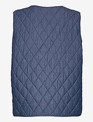 Soaked in Luxury - SLAlf Waistcoat - puffer vests - classic blue denim - 1
