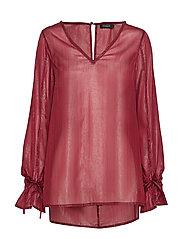 Disa lurex blouse ls - CABERNET W LUREX