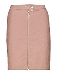 Klaudia PU Skirt - BALLERINA PINK