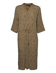 SL Zaya Dress - SCATTERED DOT PRINT ELMWOOD