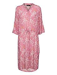 SL Zaya Dress - MESA ROSE WINE PRINT