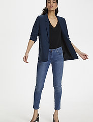 Soaked in Luxury - SLShirley Blazer - vardagskavajer - navy - 3