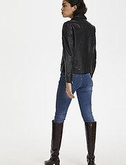 Soaked in Luxury - SLMaeve Leather Jacket LS - skinnjackor - black - 4