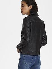 Soaked in Luxury - SLMaeve Leather Jacket LS - skinnjackor - black - 7