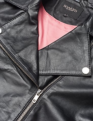Soaked in Luxury - SLMaeve Leather Jacket LS - skinnjackor - black - 8