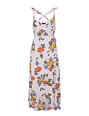 Fanny Dress - ORCHID PINK FLORAL PRINT