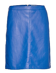 SL Tamara PU Skirt - NAUTICAL BLUE