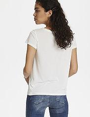 Soaked in Luxury - SLColumbine Tee - t-shirts - broken white - 6