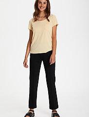 Soaked in Luxury - SLColumbine Tee - t-shirts - cornhusk - 3