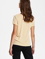 Soaked in Luxury - SLColumbine Tee - t-shirts - cornhusk - 4