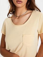 Soaked in Luxury - SLColumbine Tee - t-shirts - cornhusk - 5