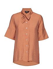 SL Valora Shirt SS - PECAN BROWN